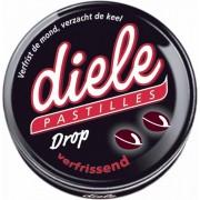 Diele pastilles drop verfrissend blikje 75 gr