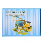 Mathematics Learning Flash Cards Questionno Arithmetic Early Education Card Children Educational Toys W/A Wiping Pen (1