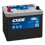Akumulator za automobil Exide EXCELL 12V60AH L+ ASIA EB605 ( D48 )