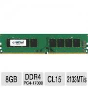 DDR4, 8GB, 2133MHz, Crucial Unbuffered, CL15 (CT8G4DFD8213)