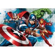 Puzzle Clementoni - Marvel Avengers, 104 piese (57154)