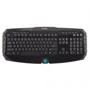 Klávesnica Zalman ZM-K300M, multimediálna, 20 hot keys, black, USB, ENG