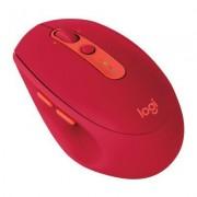 Logitech Mysz bezprzewodowa LOGITECH M590 Multi-Device Silent Rubinowy 910-005199