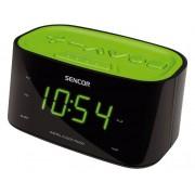 Rádiós ébresztő óra, USB mobiltelefonok töltéséhez SRC 180 GN