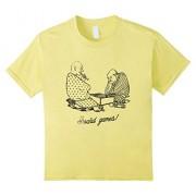 Kids Love Board Games T Shirt Game Lovers Tee Player Chess Addict 10 Lemon