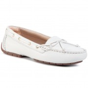 Мокасини CLARKS - C Mocc Boat 261492714 White Leather