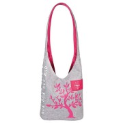 Lässig Bolsa Shopper ''Green Label'', melange-magenta