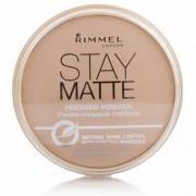 Rimmel Stay Matte Pressed Powder 006 Warm Beige 14 g Powder
