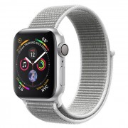 Apple Watch Series 4 GPS, 40mm Alluminio Argento - Sport Loop Conchiglia