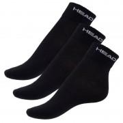 Head 3PACK ponožky HEAD černé (761011001 200) L