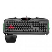 Клавиатура A4 Tech Bloody B210, гейминг, LED програмируема подсветка, 1.8m кабел, с подложка за китката, черна, USB