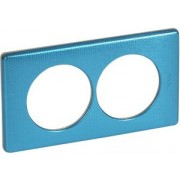 CELIANE 2-ős keret 57mm távolság Kék pikkely 68778 - Legrand