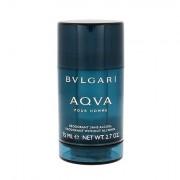 Bvlgari Aqva Pour Homme deodorante stick senza alluminio 75 ml uomo