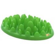 Aktiveringsplatta / matskål stor grön