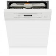 Miele G6730Sci Brilliant White Built In Semi Integrated Dishwasher