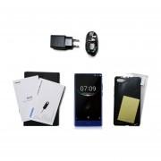 Mezcla DOOGEE Cámara Dual De 5,5 Pulgadas Sin Enmarcar 4G Smartphone Para Android 7.0 Azul Enchufe UE