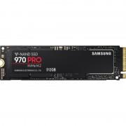 Samsung 512 GB Interne SSD 970 PRO Zwart