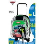 Trolley cu rucsac jr. detasabil Cars Grand Prix 28x35x12 cm