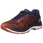 ASICS Men's Gel-Nimbus 19 Peacoat/Red Clay/Peacoat Running Shoes - 7 UK/India (41.5 EU)(8 US)