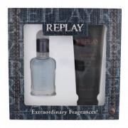 Replay Jeans Spirit! For Him подаръчен комплект EDT 30 ml + душ гел 100 ml за мъже