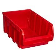 Allit Plastový box compact, 316 x 500 x 200 mm, červený