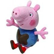 Plus licenta Peppa Pig George murdarel 15 cm - Ty