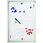 tactic bord Select tactică bord alu handbal alb