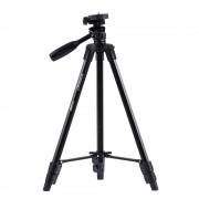 YUNTENG VCT-520RM Draagbare Camera Statief Aluminium Statief met Universele Smartphone Mount voor Sony ILDC Digitale Camera