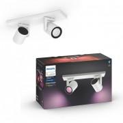 Philips Hue 50622/31/P7 stropní bodové svítidlo Argenta 2x5,7W 2000-6500K RGB - Bluetooth, White and Color Ambiance