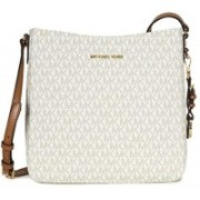 Michael Kors Men & Women White Messenger Bag