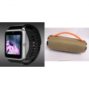 Zemini GT08 Smart Watch and Mini Xtreme K5 + Bluetooth Speaker for SONY xperia z1f(GT08 Smart Watch with 4G sim card camera memory card |Mini Xtreme K5 + Bluetooth Speaker )
