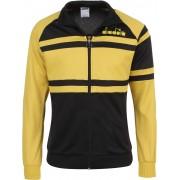 Diadora JACKET 80S Trainingsjacke gelb schwarz