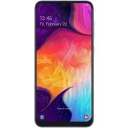 """Telefon Mobil Samsung Galaxy A50, Procesor Octa-Core 2.3GHz / 1.7GHz, Super AMOLED 6.4"""", 4GB RAM, 128GB Flash, 25+8+5MP, Wi-Fi, 4G, Dual Sim, Android (Alb) + Cartela SIM Orange PrePay, 6 euro credit, 6 GB internet 4G, 2,000 minute nationale si internation"""