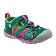 KEEN SEACAMP II CNX JR Dětské sandály KEN1201103302 everglade/jasmine green 7(39)