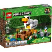 Lego Klocki konstrukcyjne LEGO Minecraft Kurnik 21140