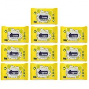 Wippee 10N Usable Baby Wipes With Almond Oil ( Pack Of 10)