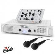 Set ''DJ 94'' amplificatore mixer microfono 1200W