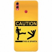 Husa silicon pentru Honor 10 Lite This Is Sparta Funny Illustration