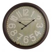 Oak Furnitureland Clocks - Antiquite Wall Clock - Oak Furnitureland