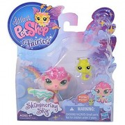 Littlest Pet Shop Fairies Shimmering Sky Figures Sea Breeze Fairy and Ant ...