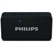 Philips BT64B/94 3 W Portable Bluetooth Speaker (Black, Mono Channel) (Open Box)
