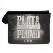 Narcos - Plata o Plomo Messenger Bag, Messenger Shoulder Bag