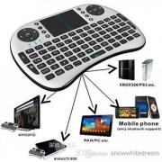 Hot!!!Portable 2.4G Rii Mini i8 Wireless Keyboard Mouse Combo with Touchpad for PC Pad
