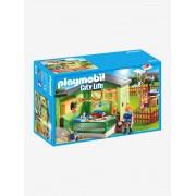Playmobil 9276 Refúgio para gatos, da Playmobil verde medio liso