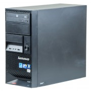 Lenovo ThinkStation E20 Intel Xeon X3450 2.66 GHz, 8 GB DDR 3 ECC, 500 GB HDD, DVD-ROM, 256 MB NVS 295, Tower, Windows 10 Pro