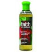 Faith in Nature Bio Gránátalma és Rooibos sampon (400ml)