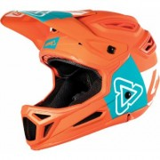Leatt DBX 5.0 V26 Composite Casque de vélo Bleu Orange M