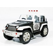 Jack Royal Ranger Adventure Jeep Pull Back Toy Car (Black)