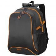 Shugon Allround rugzak/rugtas zwart/oranje 44 cm
