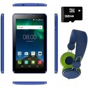 Tablet Hyundai Koral 7M4 8gb Android 8.1 3g + KIT - Azul